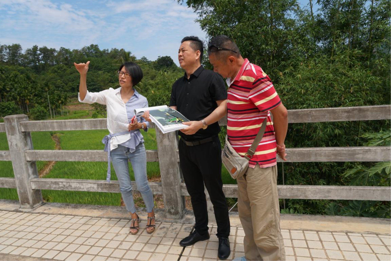 杰出集团刘杰董事长调研海南康养项目